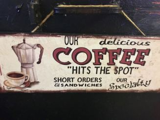 Coffee Hits the Spot!
