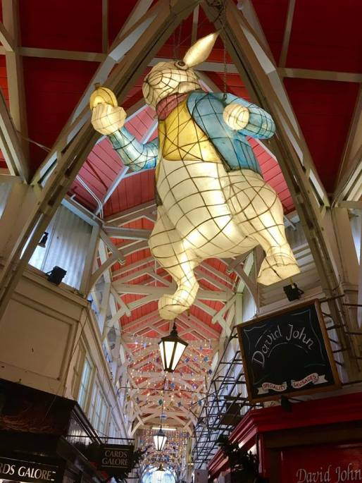 Covered Market Floating Rabbit