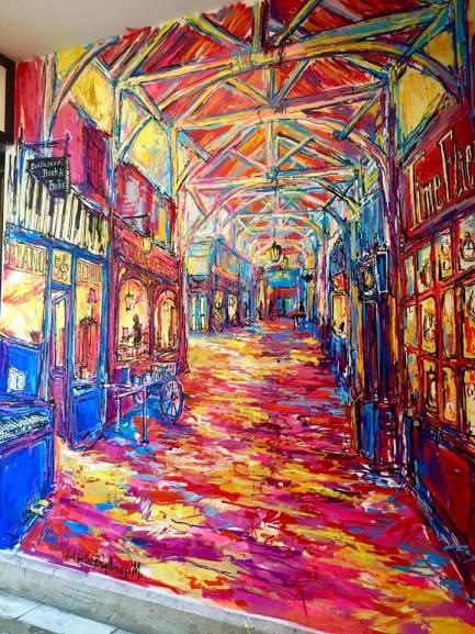 Covered Market Paintings