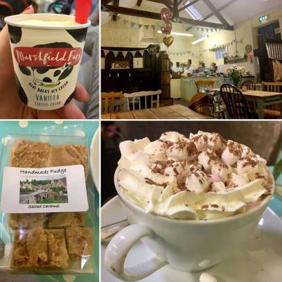 Hot Chocolate and Ice Cream