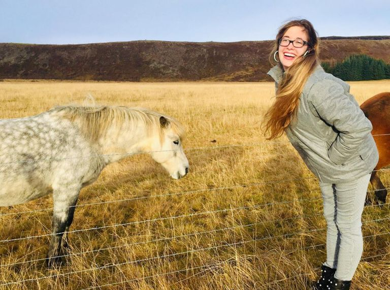 Kelsey and Horse