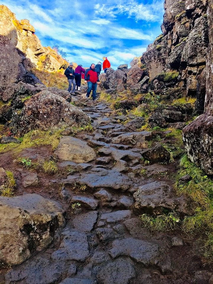 Path to Oxarafoss