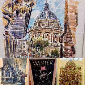 Radcliffe Camera Paintings