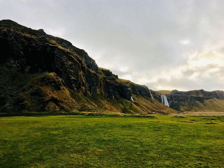 Seljalandsfoss Greenery