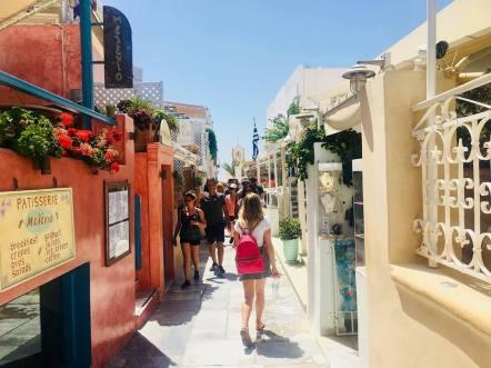 oia streets